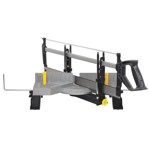 Stanley Aluminum Clamping Miter Box with Saw